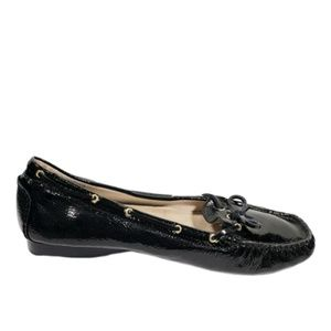 Michael Kors Shoes - Women's Black Shoes Flat Moccasin Loafers Shoes 10